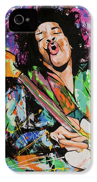 Jimi Hendrix IPhone 4s Case by Richard Day