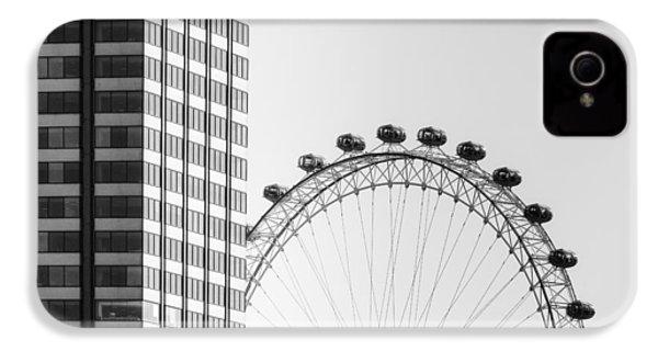 London Eye IPhone 4s Case by Joana Kruse