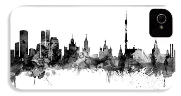 Moscow Russia Skyline IPhone 4s Case