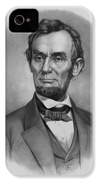 President Lincoln IPhone 4s Case