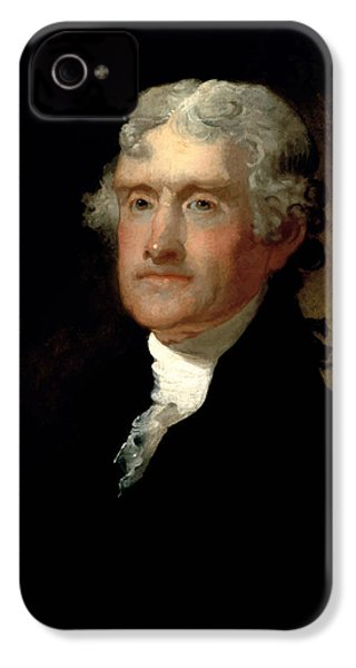 President Thomas Jefferson  IPhone 4s Case by War Is Hell Store