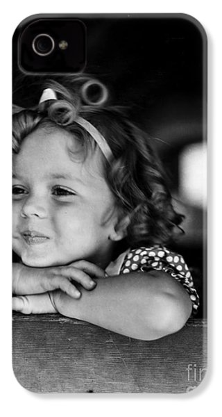 Shirley Temple (1928- ) IPhone 4s Case by Granger