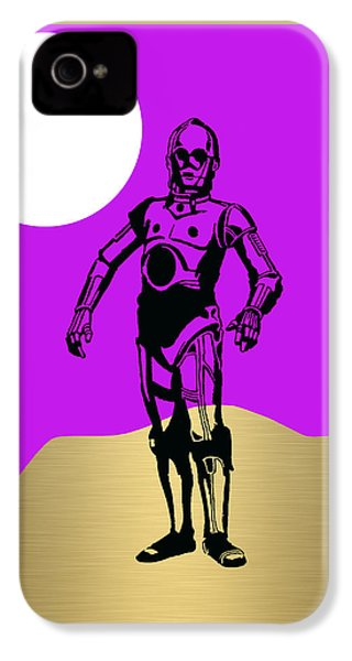 Star Wars C-3po Collection IPhone 4s Case by Marvin Blaine
