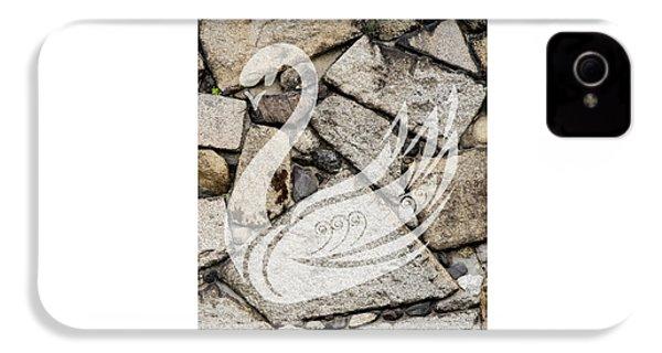 Swan Art IPhone 4s Case