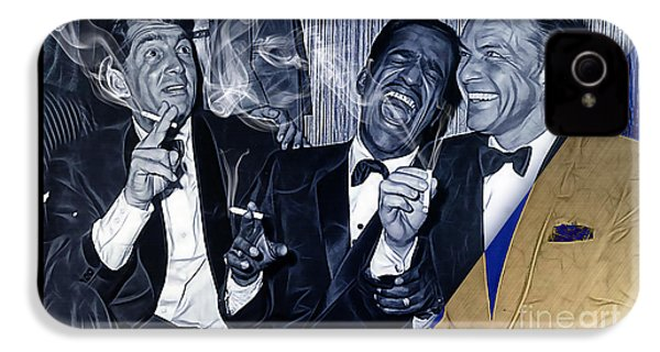 The Rat Pack Collection IPhone 4s Case by Marvin Blaine