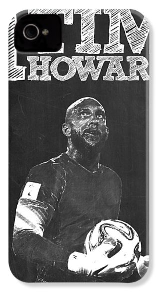 Tim Howard IPhone 4s Case