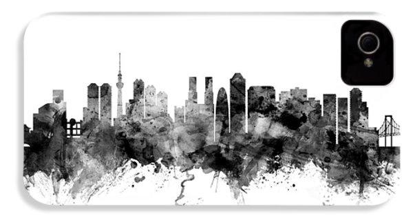 Tokyo Japan Skyline IPhone 4s Case by Michael Tompsett