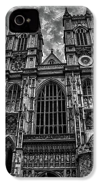 Westminster Abbey IPhone 4s Case by Martin Newman