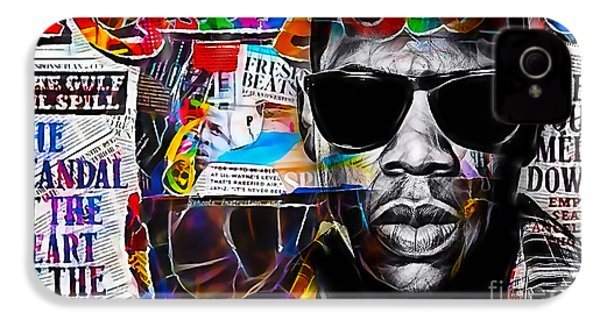 Jay Z Collection IPhone 4s Case by Marvin Blaine