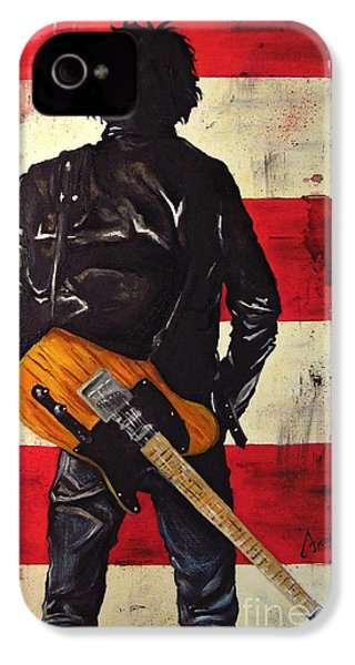 Bruce Springsteen IPhone 4s Case by Francesca Agostini