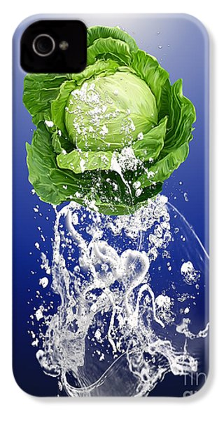 Cabbage Splash IPhone 4s Case by Marvin Blaine