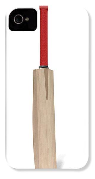 Cricket Bat IPhone 4s Case by Allan Swart