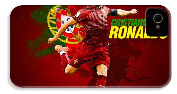 Cristiano Ronaldo IPhone 4s Case by Semih Yurdabak
