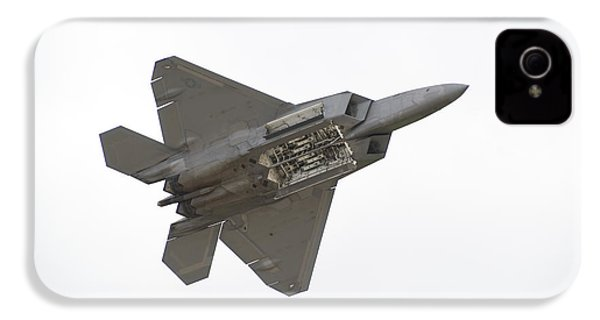 F-22 Raptor IPhone 4s Case by Sebastian Musial