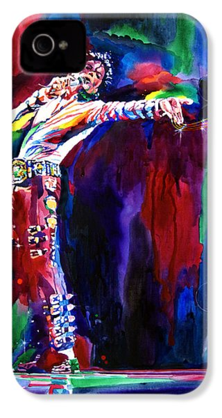 Jackson Magic IPhone 4s Case by David Lloyd Glover