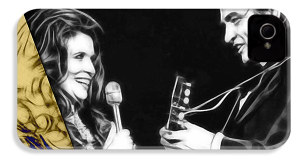 June Carter And Johnny Cash Collection IPhone 4s Case