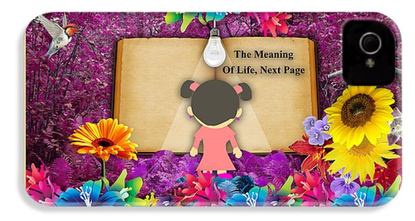The Meaning Of Life Art IPhone 4s Case