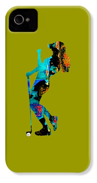 Womens Golf Collection IPhone 4s Case