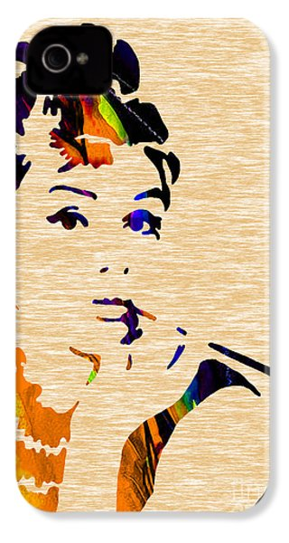 Audrey Hepburn Collection IPhone 4s Case by Marvin Blaine
