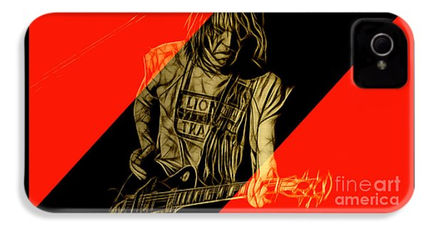 Neil Young Collection IPhone 4s Case by Marvin Blaine