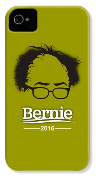 Bernie Sanders IPhone 4s Case by Marvin Blaine