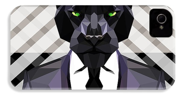 Black Panther IPhone 4s Case by Gallini Design