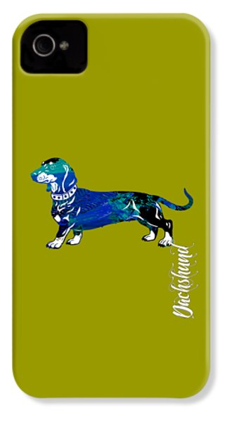 Dachshund Collection IPhone 4s Case by Marvin Blaine