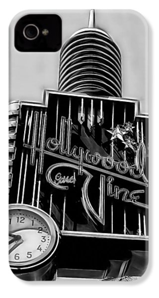 Hollywood And Vine Street Sign Collection IPhone 4s Case