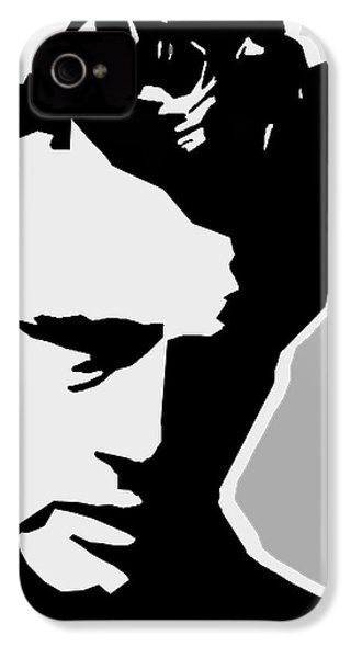 James Dean  IPhone 4s Case by Mark Ashkenazi