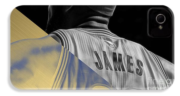 Lebron James Collection IPhone 4s Case by Marvin Blaine