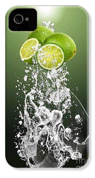 Lime Splash IPhone 4s Case