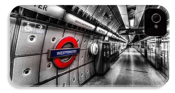 Underground London IPhone 4s Case by David Pyatt
