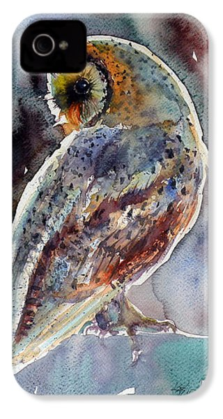 Barn Owl IPhone 4s Case by Kovacs Anna Brigitta