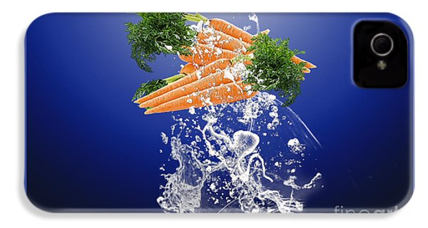 Carrot Splash IPhone 4s Case