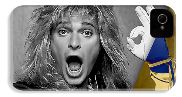 David Lee Roth Collection IPhone 4s Case by Marvin Blaine
