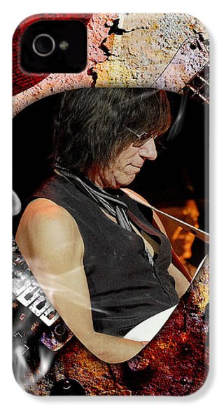 Jeff Beck Guitarist Art IPhone 4s Case