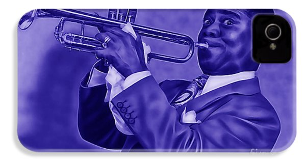 Louis Armstrong Collection IPhone 4s Case by Marvin Blaine
