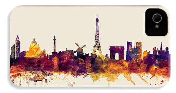 Paris France Skyline IPhone 4s Case