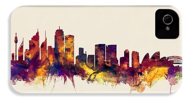 Sydney Australia Skyline IPhone 4s Case
