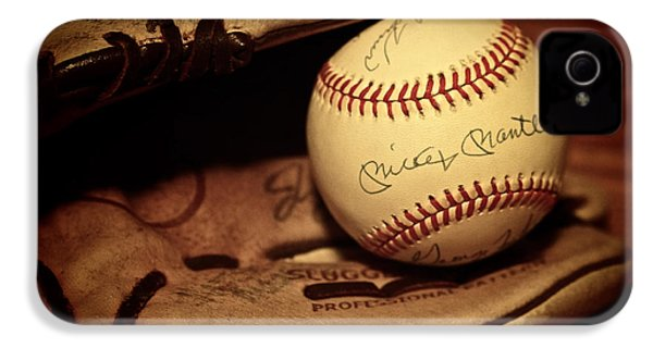50 Home Run Baseball IPhone 4s Case by Mark Miller