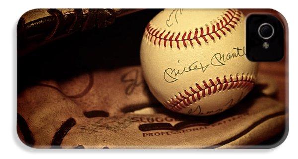 50 Home Run Baseball IPhone 4s Case by Mark Miller