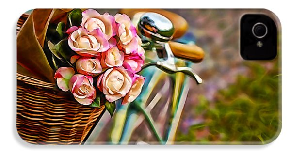Flower Bike Collection IPhone 4s Case