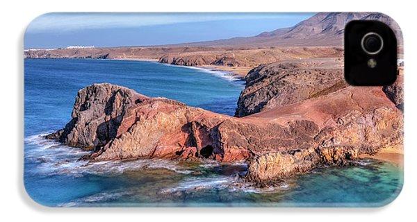 Playa Papagayo - Lanzarote IPhone 4s Case by Joana Kruse