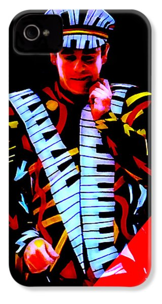 Elton John Collection IPhone 4s Case by Marvin Blaine