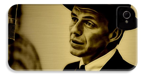Frank Sinatra Art IPhone 4s Case by Marvin Blaine