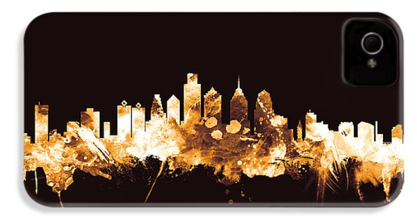 Philadelphia Pennsylvania Skyline IPhone 4s Case