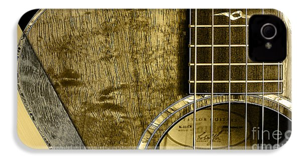Acoustic Guitar Collection IPhone 4s Case by Marvin Blaine