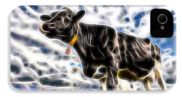 Cow IPhone 4s Case by Marvin Blaine