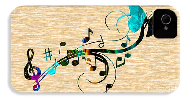 Music Flows Collection IPhone 4s Case