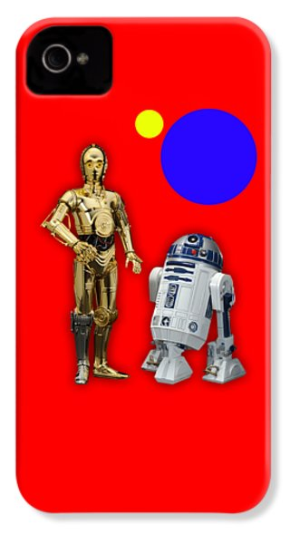Star Wars C3po And R2d2 Collection IPhone 4s Case